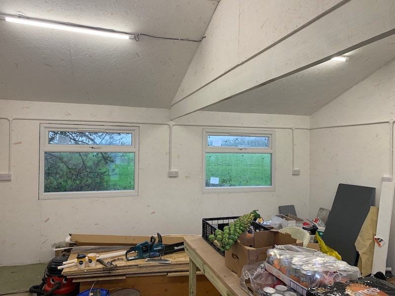 How to insulate your shed and turn it into an office or summerhouse garden room.