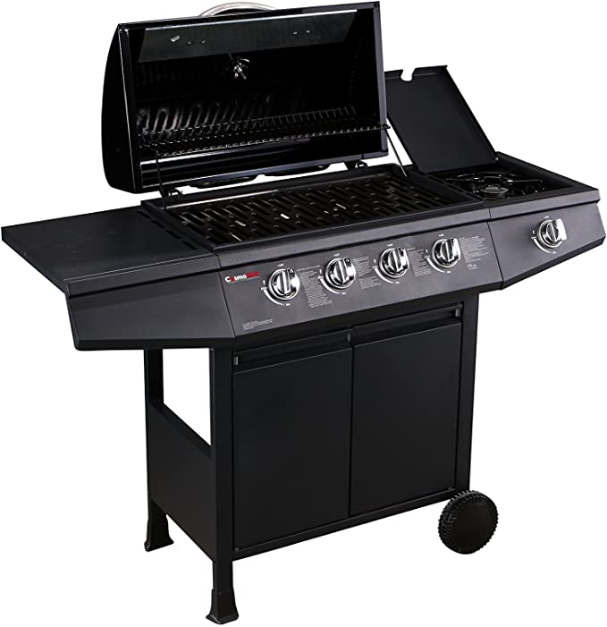 CosmoGrill 4+1 Gas Burner Garden Grill BBQ Barbecue