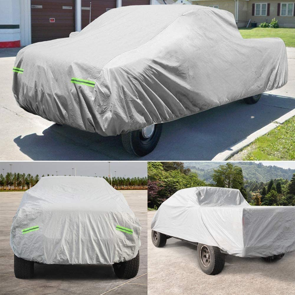 Dripex Truck Car Cover 6 Layers - Waterproof All Weather Car Cover