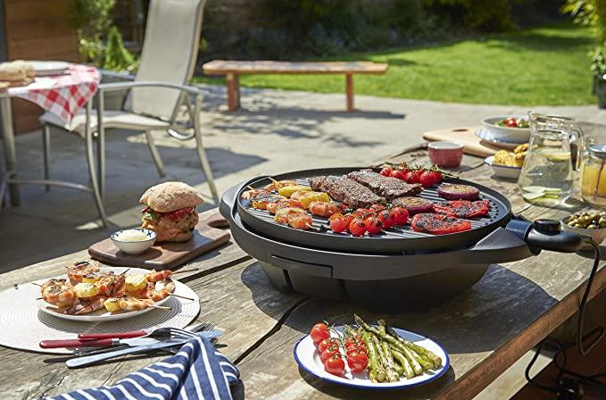 George Foreman Indoor Outdoor BBQ Grill 22460