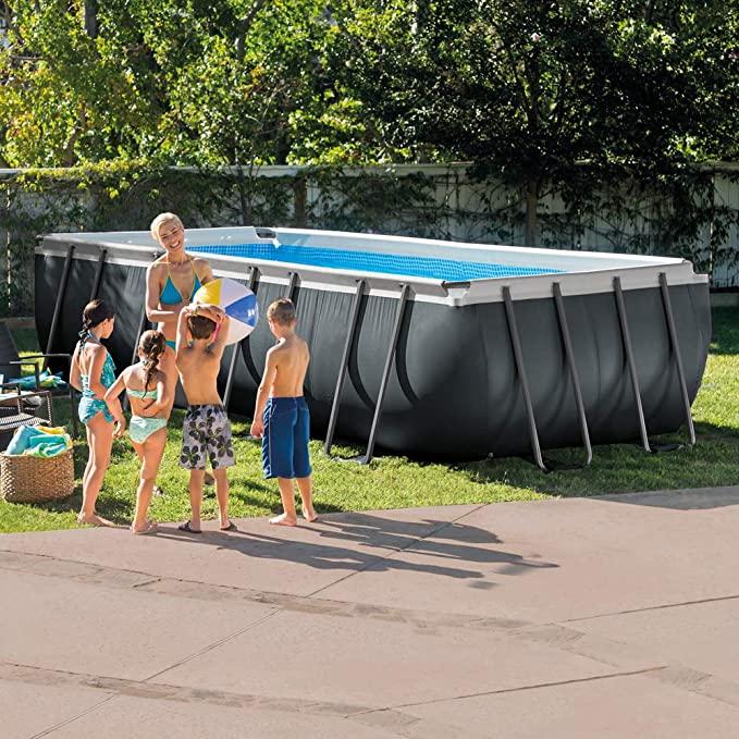 Intex Rectangular Ultra XTR Metal Frame Swimming Pool