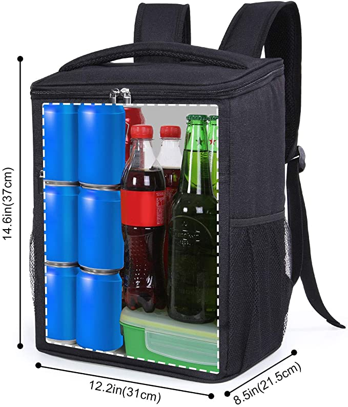Lifewit 24L (30-Can) Soft Cooler Backpack with Hard Liner