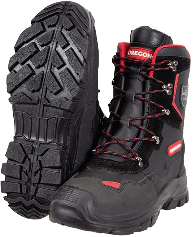 Oregon Yukon Class 1 Leather Chainsaw Protective Boot