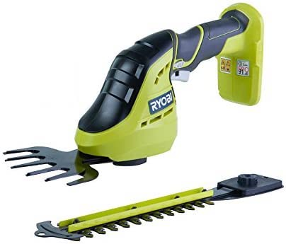 Ryobi OGS1822 One Plus Cordless 2-in-1 Grass Shear and Shrubber