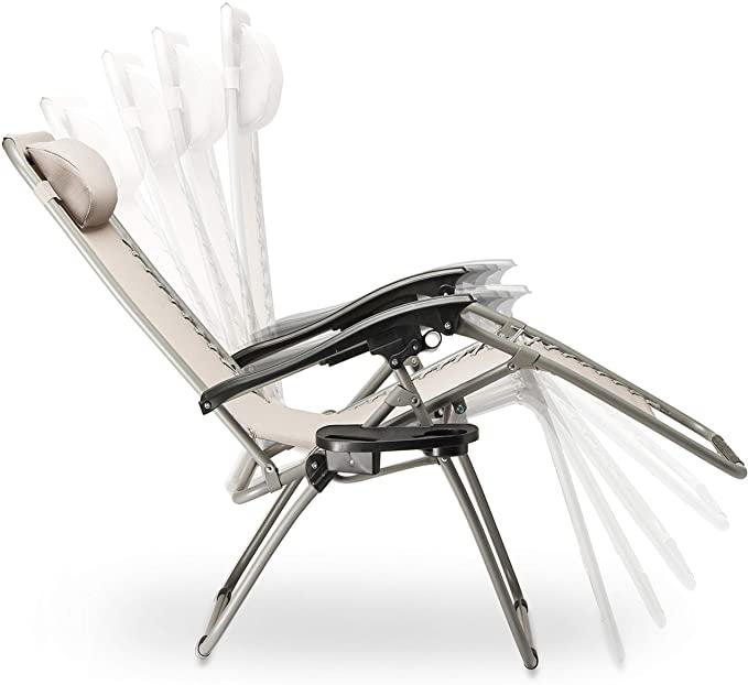 SUNMER Set of 2 Sun Lounger Garden Chairs
