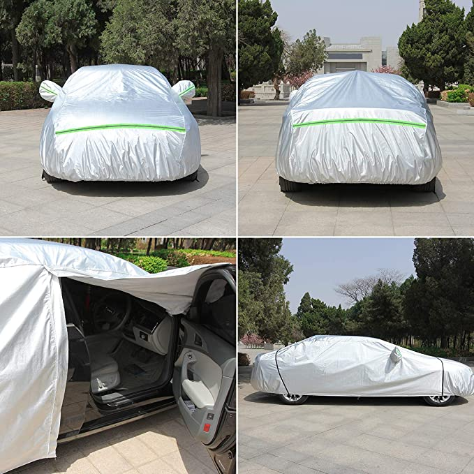 VONLUXE Car Cover - All Weather Waterproof Protection Full Cover