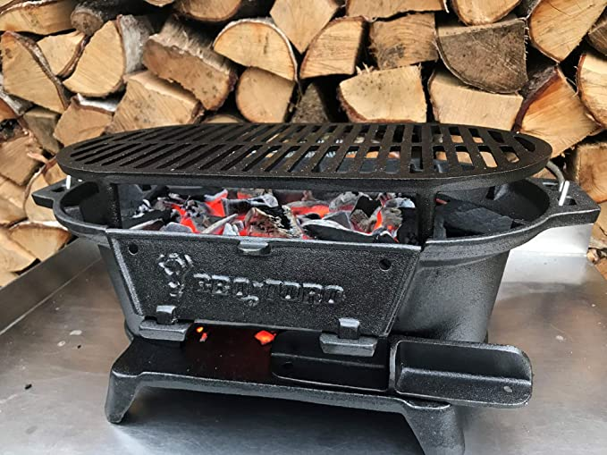 BBQ-Toro - Cast Iron Barbecue with Cooking Grate