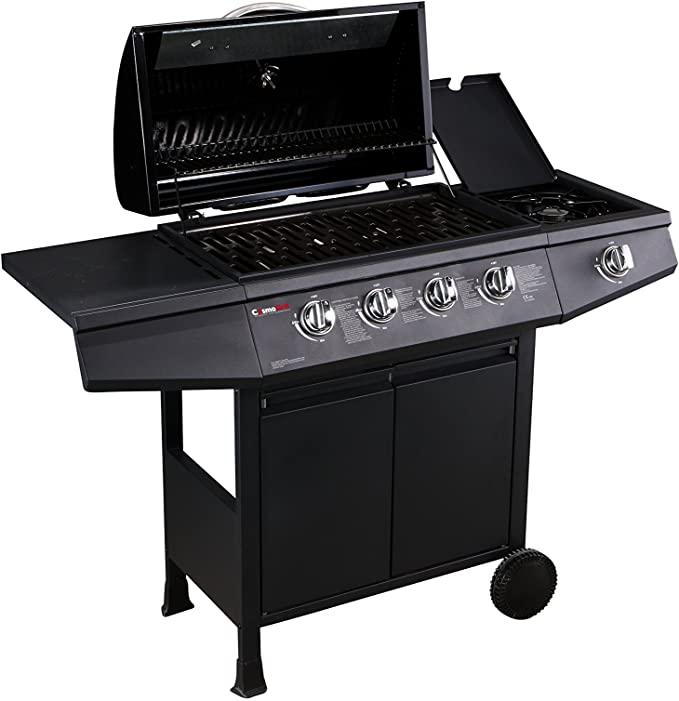 CosmoGrill 4+1 Gas Burner Garden Grill BBQ