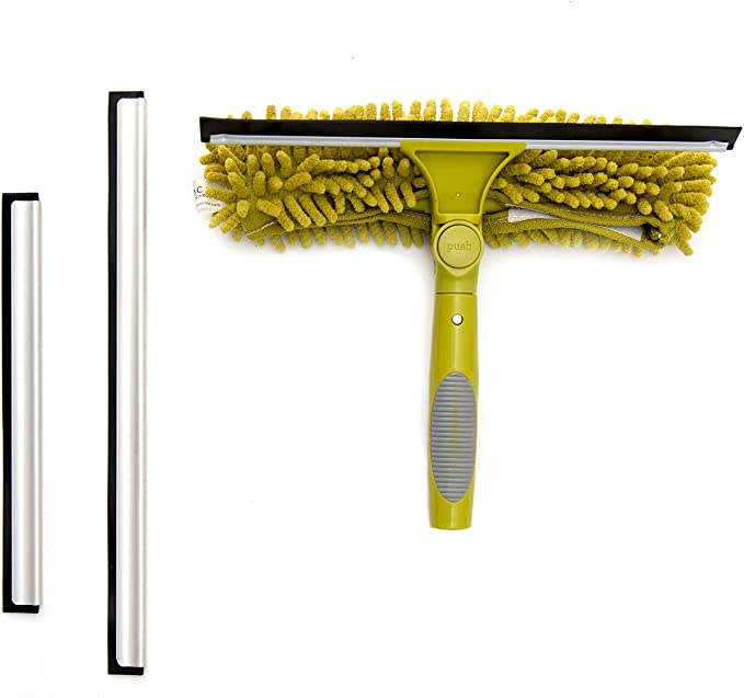 DocaPole 5-12 Foot (1.5-3.5m) Extension Pole + Squeegee & Window Washer