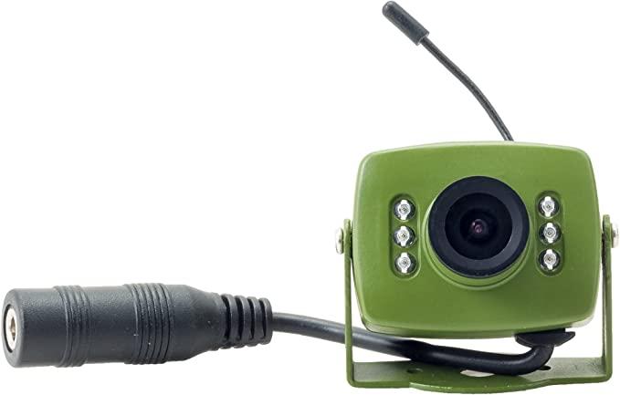 Green Feathers Wireless Bird Box