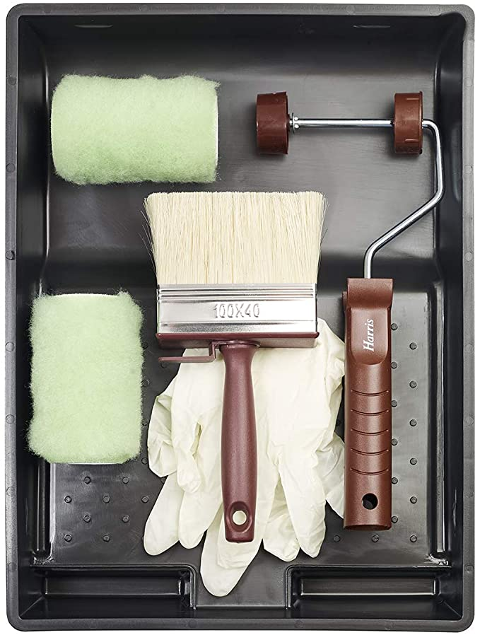 Harris 10602 Transform Shed, Fence and Decking Paint Roller Kit