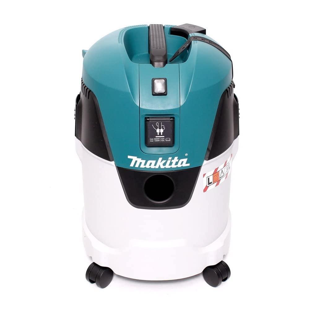 Makita VC2512L Industrial Wet/Dry Vacuum Cleaner, 1000 W 25L/18L