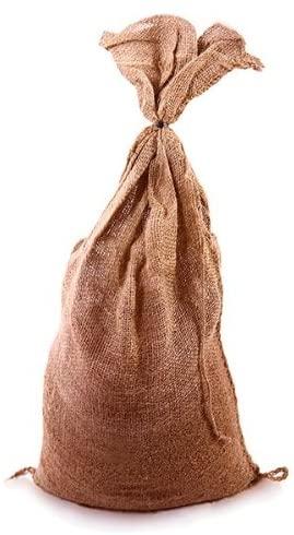 Set Of 6 Filled Hessian Sandbags