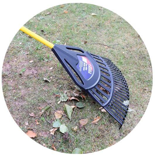 Plastic Leaf Rake Ergowide From Spear & Jackson