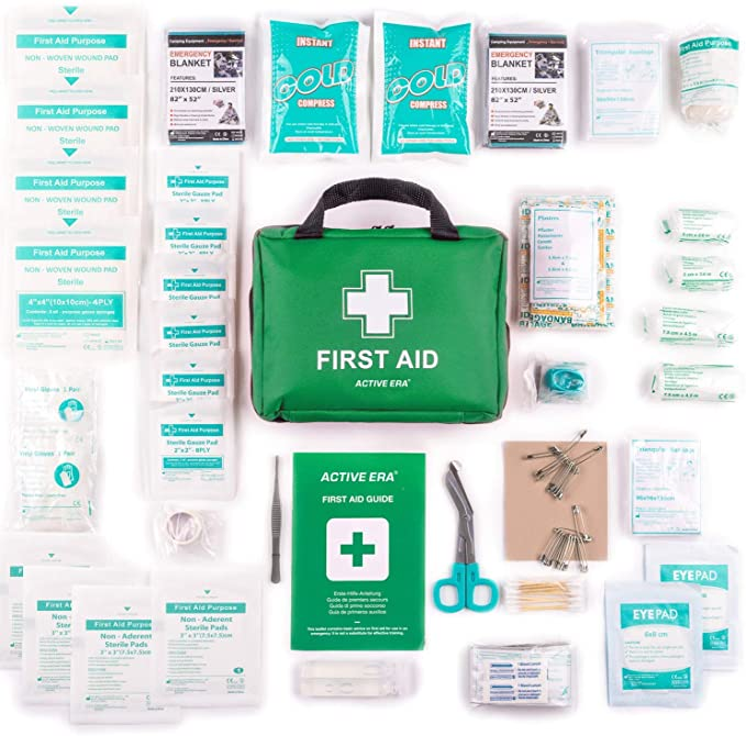 The Body Source 220 Piece Premium First Aid Kit Bag