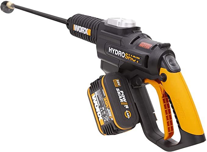 WORX WG630E Cordless Brushless Hydroshot Portable Pressure Cleaner